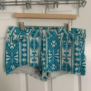 Pants - Tribal Shorts